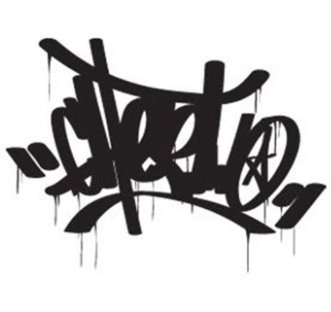 How to write graffiti on paper